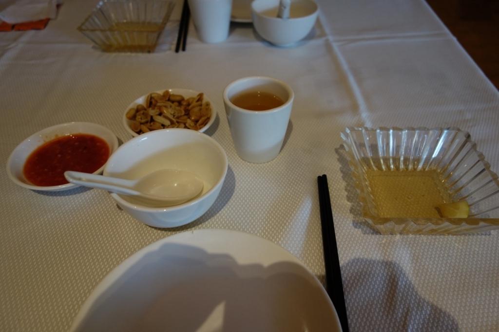 ジャンボシーフードの料理「お通し」