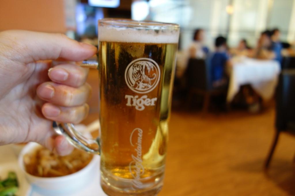 ジャンボシーフードのドリンク「ビール」