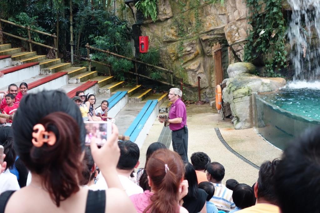 シンガポール動物園:ショーのイメージ4