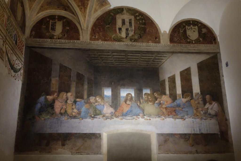 ミラノ「最後の晩餐」4