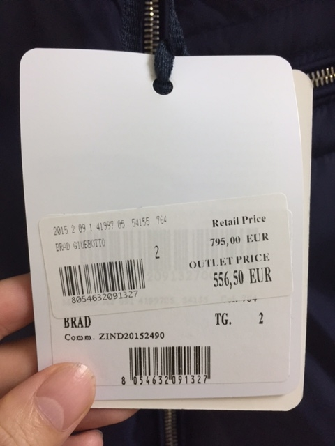 ミラノ「セッラヴァッレ」の購入品3