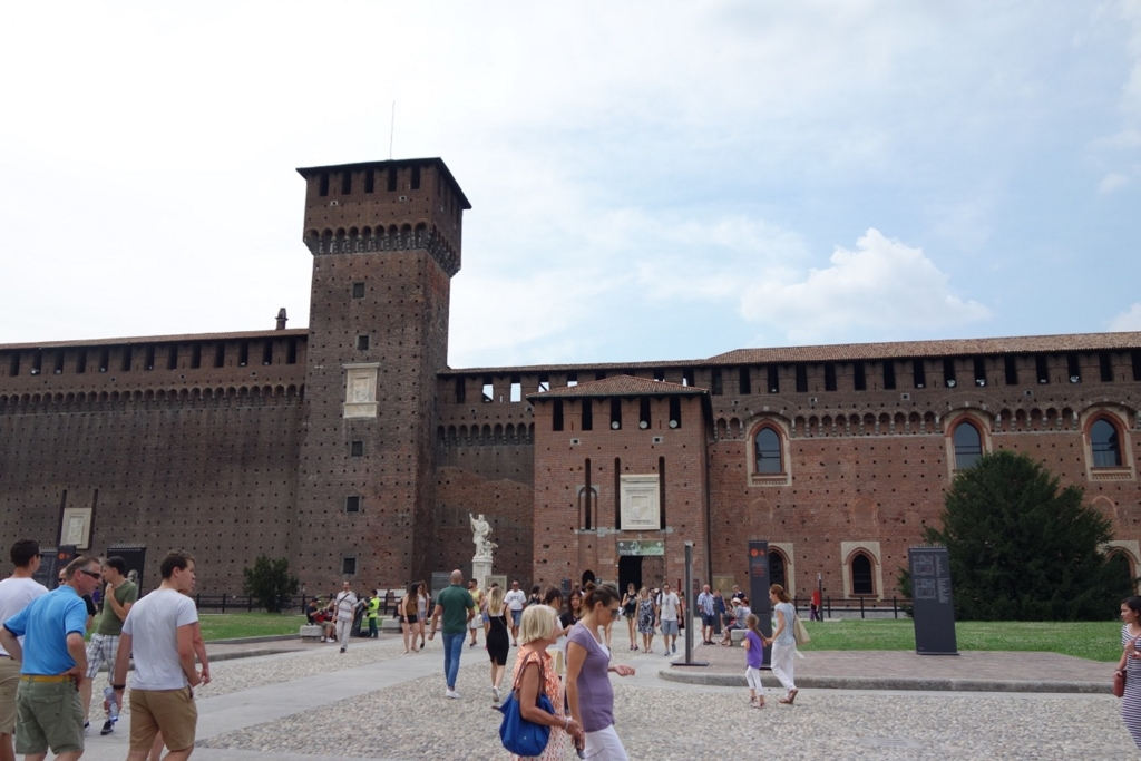 ミラノ「スフォルツァ(スフォルツェスコ)城」3