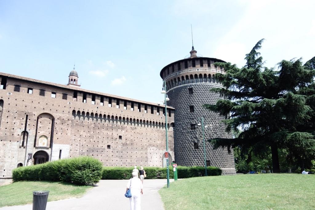 ミラノ「スフォルツァ(スフォルツェスコ)城」5
