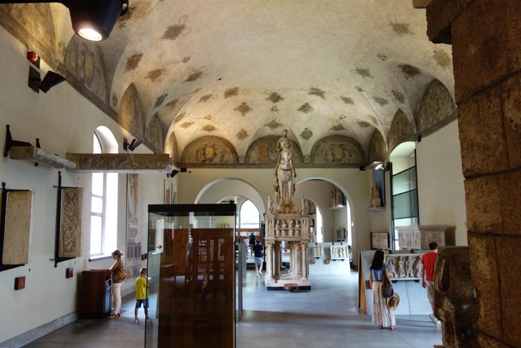 ミラノ「スフォルツァ城博物館」1