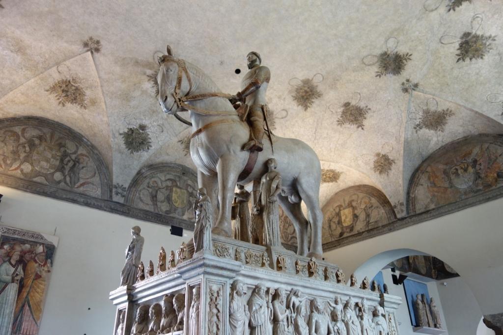 ミラノ「スフォルツァ城博物館」2