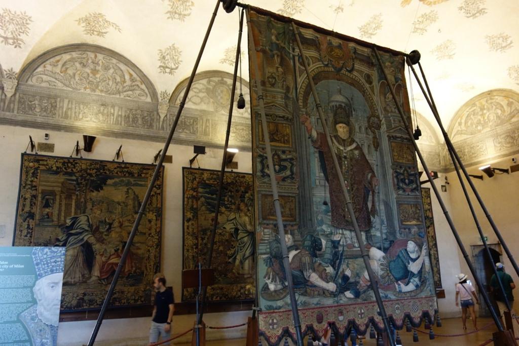 ミラノ「スフォルツァ城博物館」4