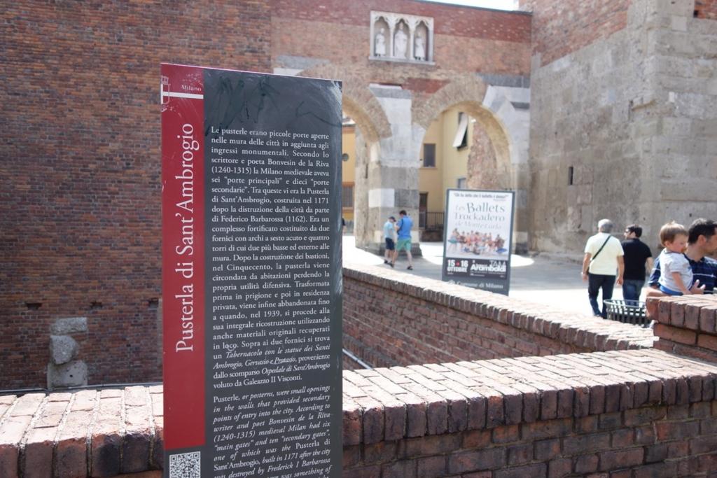 ミラノ「サンタブロージェ聖堂」1