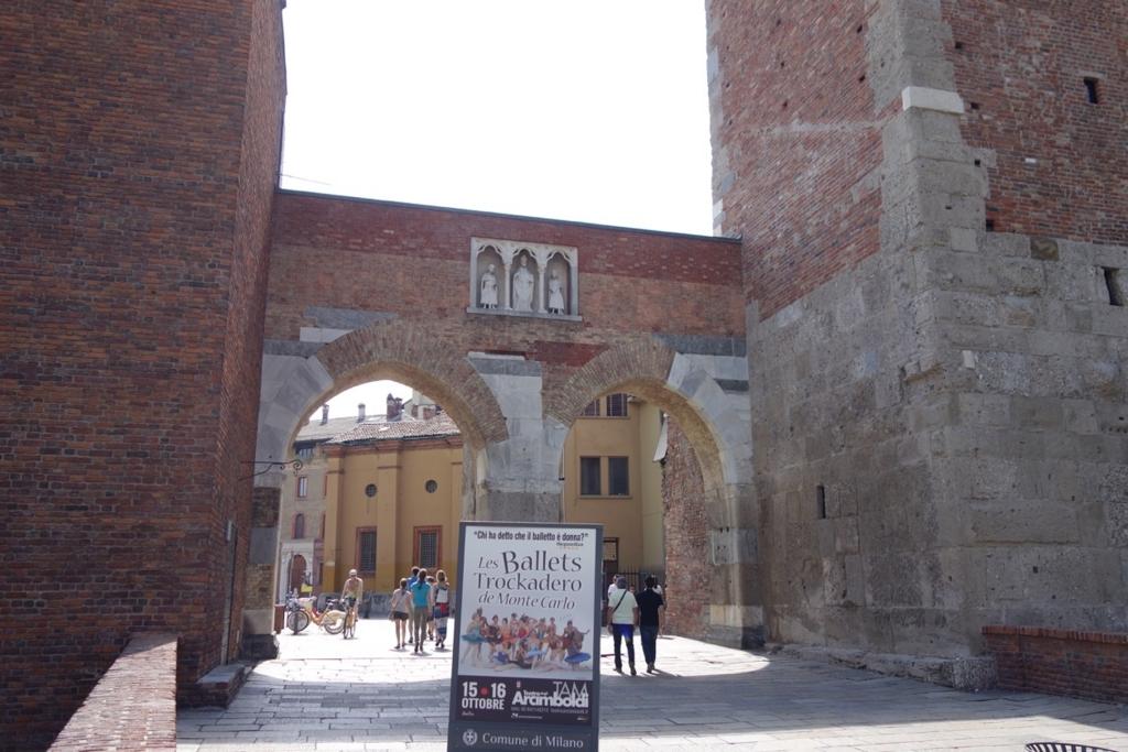 ミラノ「サンタブロージェ聖堂」2