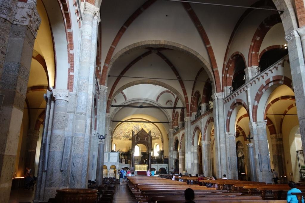 ミラノ「サンタブロージェ聖堂」9