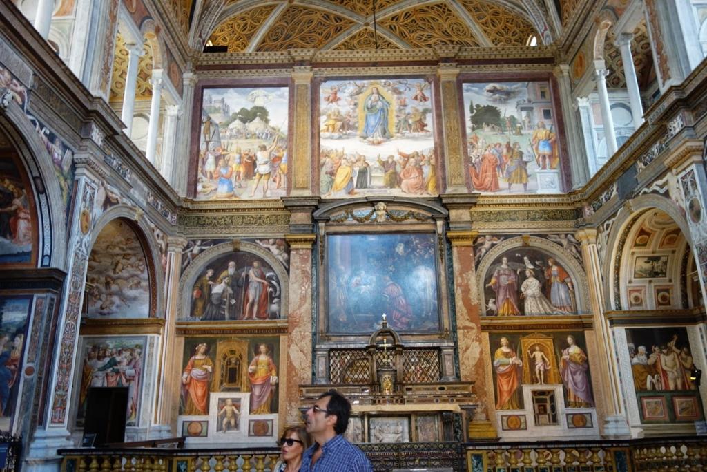 ミラノ「サン・マウリツィオ教会」3