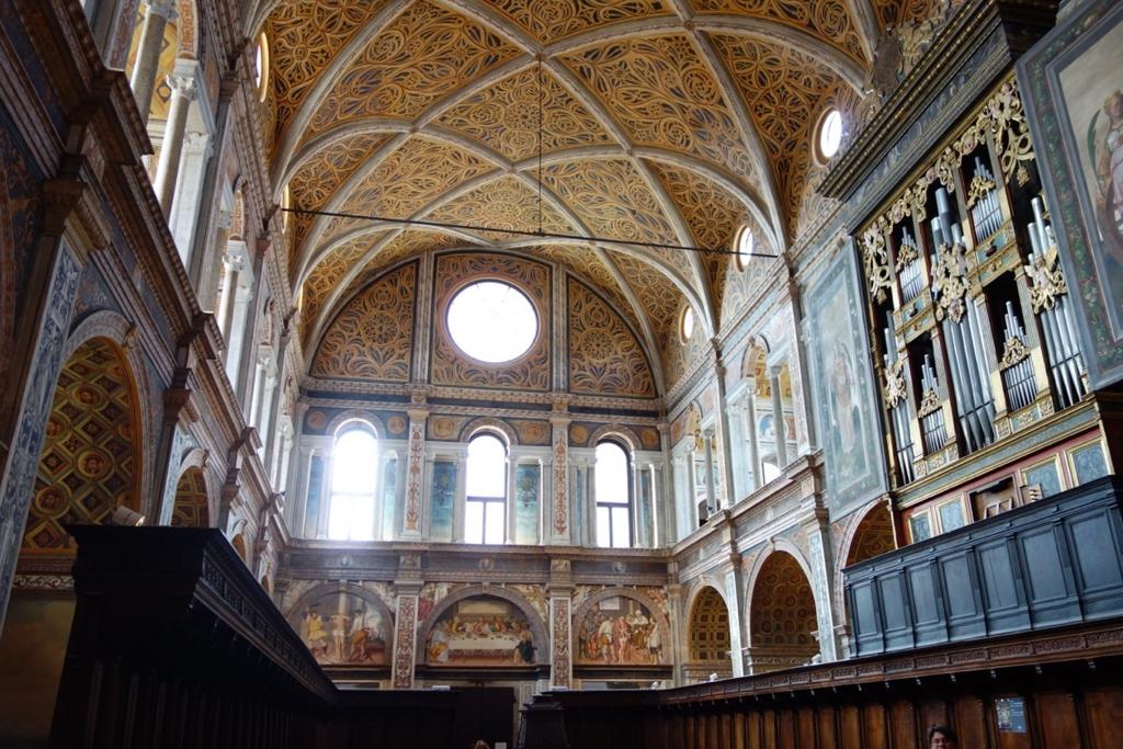ミラノ「サン・マウリツィオ教会」4
