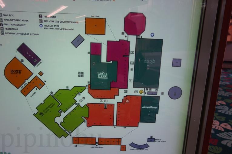 ホールフーズ(カハラ店)のマップ