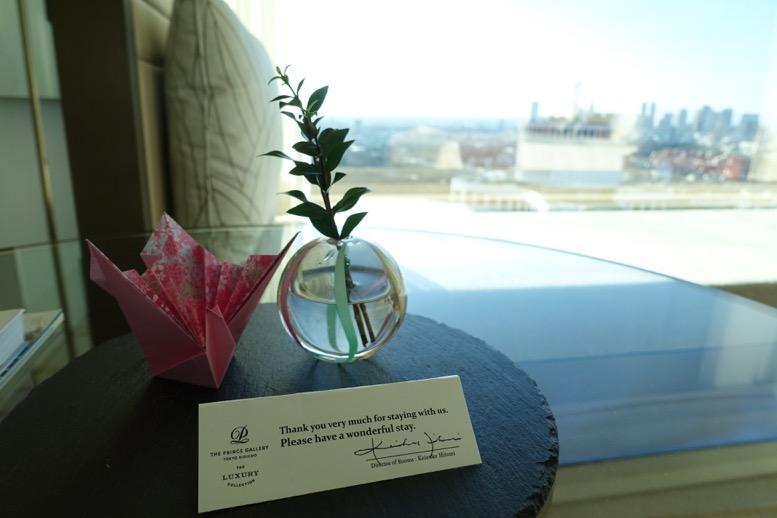 プリンスホテル宿泊のイメージ