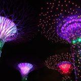 ガーデンズバイザベイのナイトショー(ガーデンラプソディ)をレポート!<シンガポール旅行記>