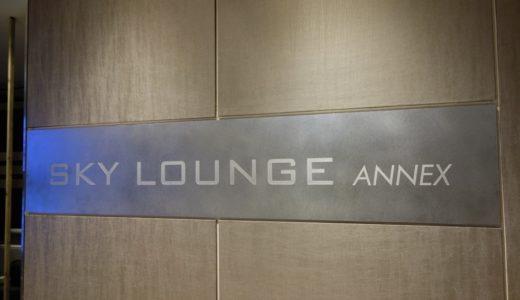 羽田空港 スカイラウンジ / スカイラウンジ アネックス 訪問記!国際線カードラウンジをレポート!