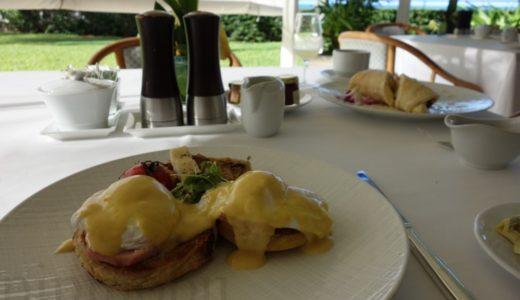 ハレクラニの朝食:オーキッズのエッグベネディクトとリコッタパンケーキがオススメ!<ハワイ旅行記2017>