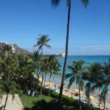 モアナサーフライダー宿泊記:SPGアメックスでオーシャンビューのお部屋にアップグレード!<ハワイ旅行記2017>