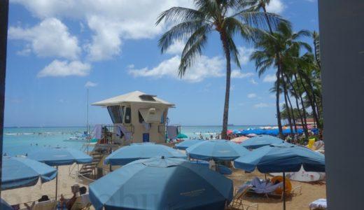 モアナサーフライダー:プールと専用ビーチで優雅なハワイを満喫!場所と料金は?