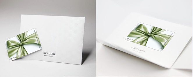 アメックスが発行する「百貨店ギフトカード」1