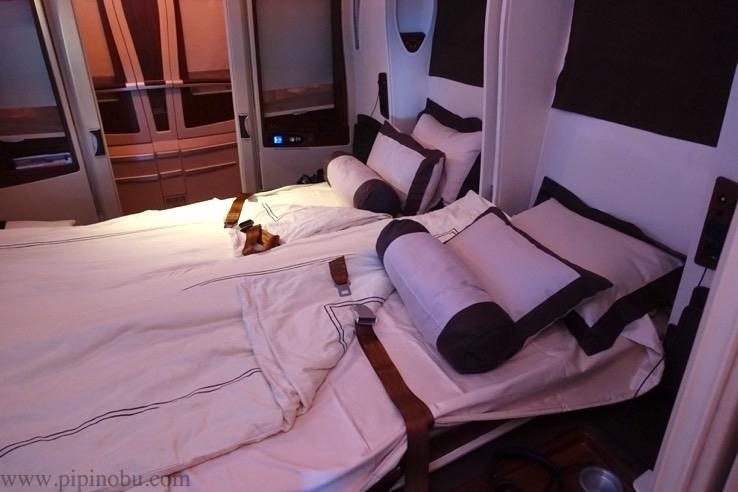シンガポール航空「スイートクラス」のシート