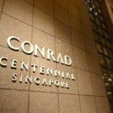 コンラッド・センテニアル・シンガポール 宿泊記:お部屋のアップグレード結果とプールの様子をレポート!