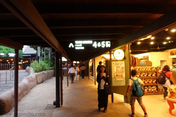ナイトサファリ(シンガポール):トラム乗り場のイメージ1