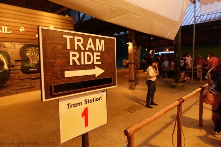 ナイトサファリ(シンガポール):トラム乗り場のイメージ3