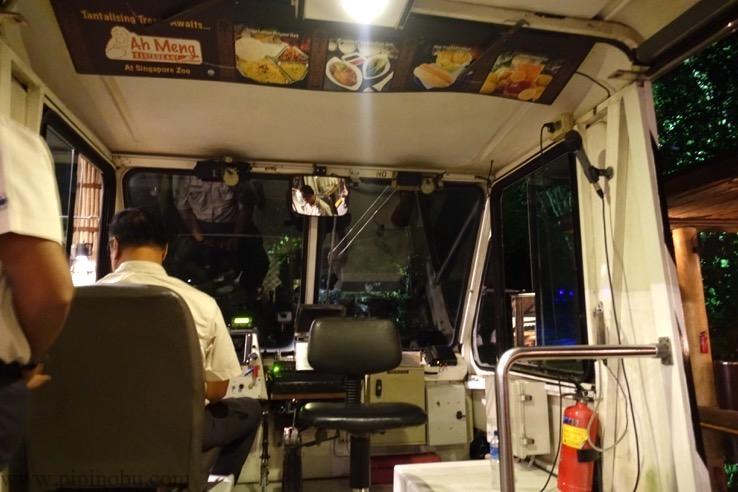 ナイトサファリ(シンガポール):トラムのイメージ