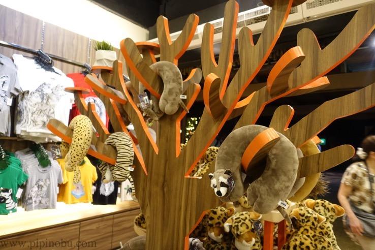 ナイトサファリ(シンガポール):お土産ショップのイメージ3
