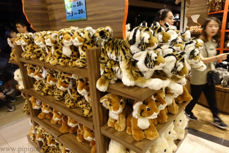 ナイトサファリ(シンガポール):お土産ショップのイメージ2