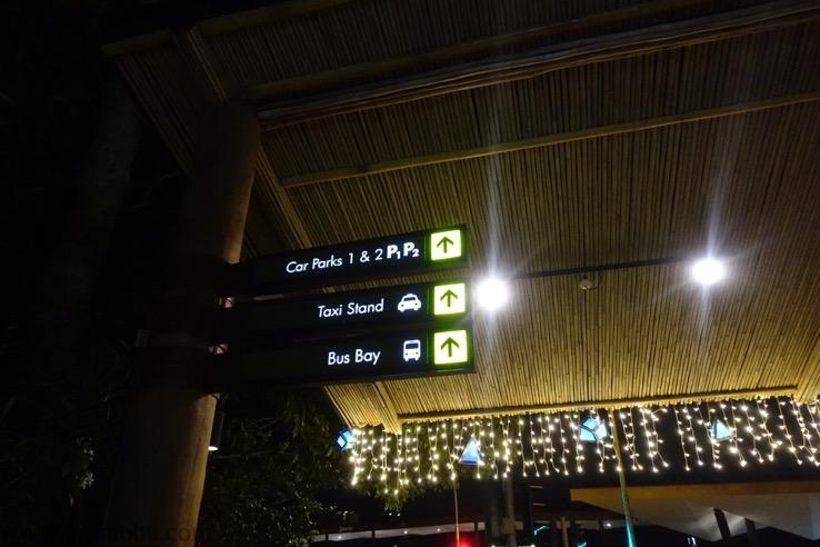 ナイトサファリ(シンガポール):帰り方のイメージ1