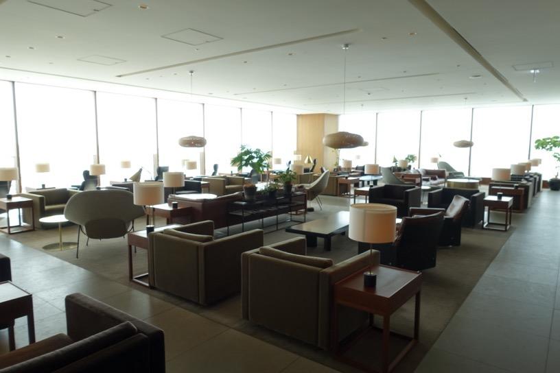 羽田空港の航空会社ラウンジのイメージ