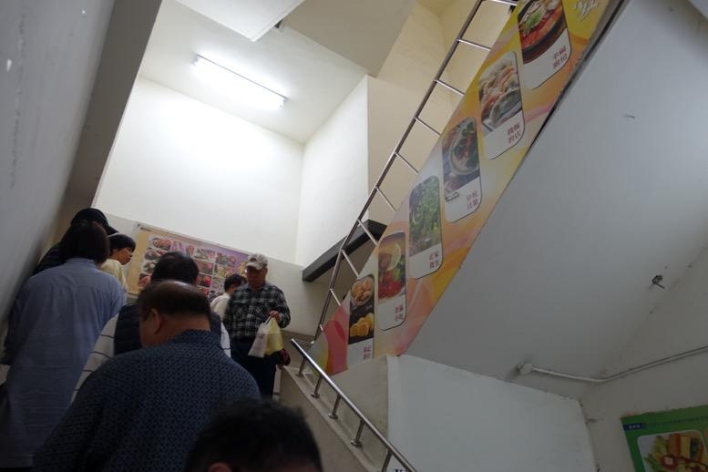 阜杭豆漿(フーハン・ドゥジャン)の行列4