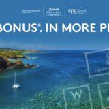マリオット&SPGのキャンペーン情報(2018年9月-2019年1月)「Mega Bonus」がスタート!