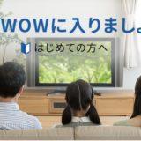 WOWOWの入会キャンペーンはポイントサイト経由がお得!5,520円相当の大還元!<ポイントインカム>