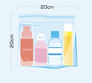 液体物の機内持ち込み制限(国際線)2