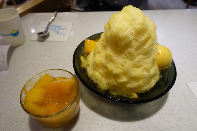 台湾(台北)かき氷のイメージ