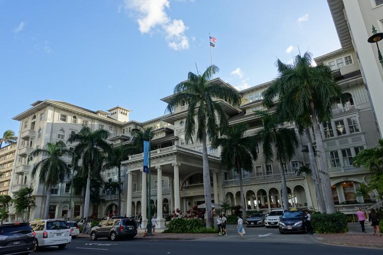 ハワイのホノルル市街