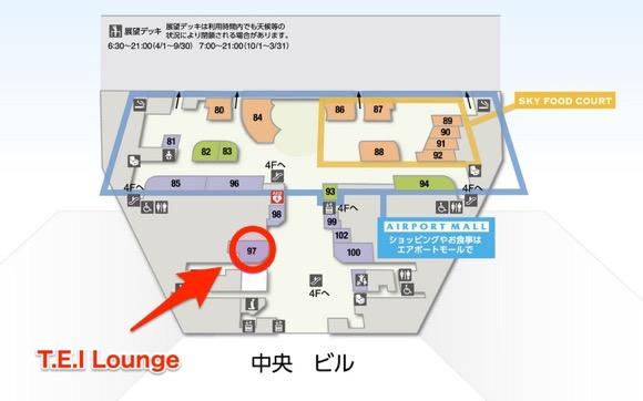 TEI Lounge1の地図