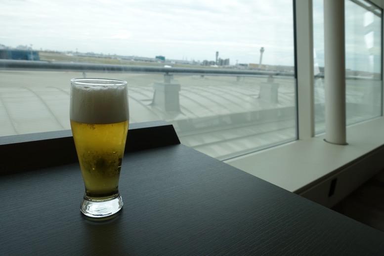 TIATラウンジのビール