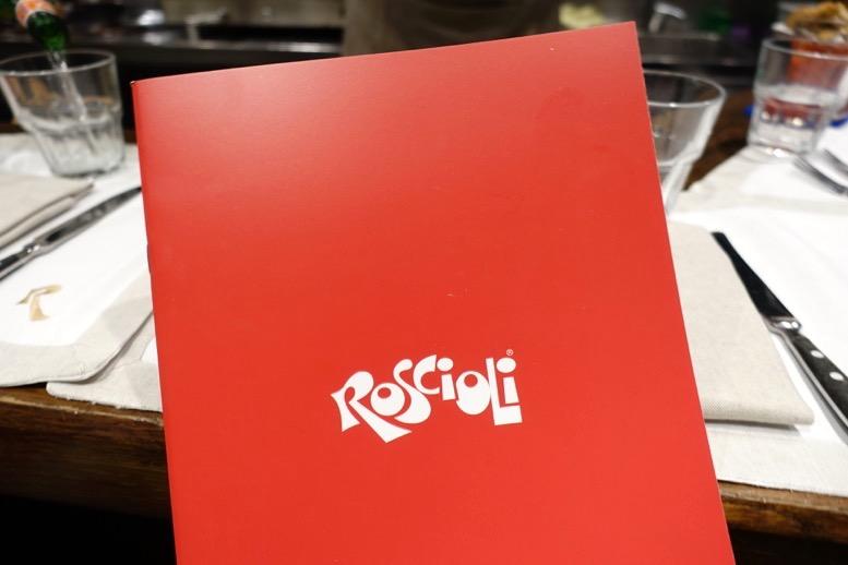 ロショーリ(Roscioli)のメニュー1