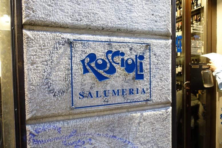 ロショーリ(Roscioli)の外観