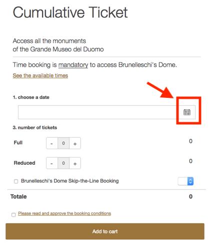 チケット予約方法「日付選択」1