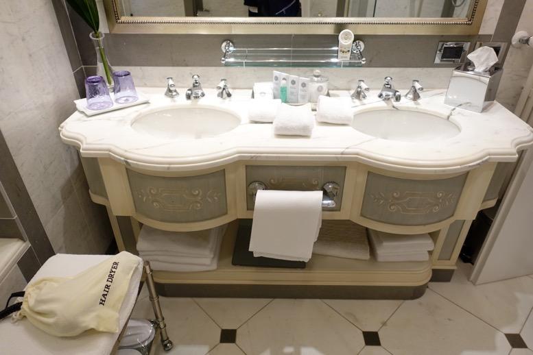 「セントレジス ・フィレンツェ」のバスルーム3