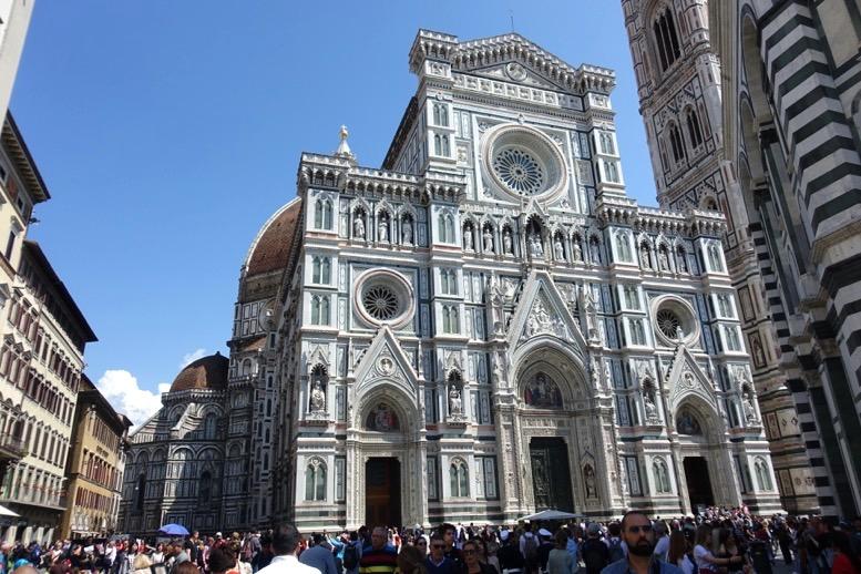 フィレンツェ「ドゥオーモ」の外観
