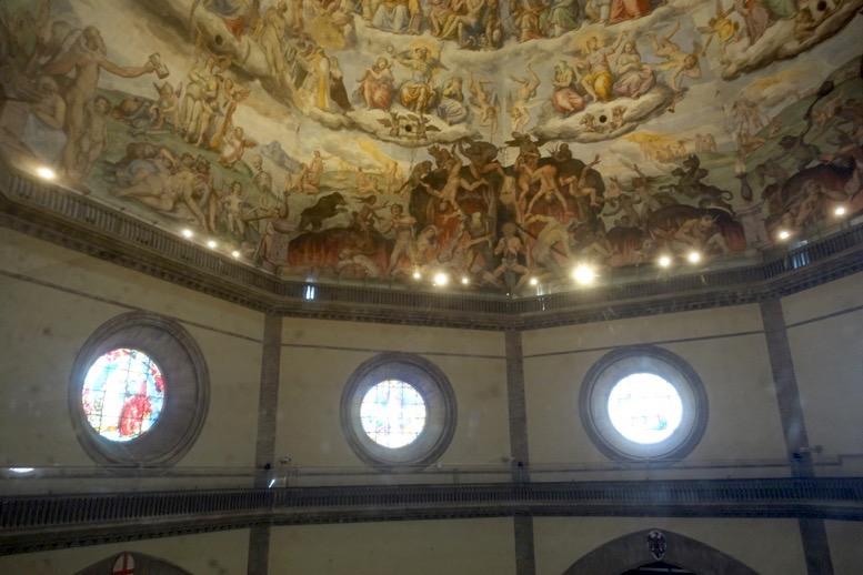クーポラ:天井画1