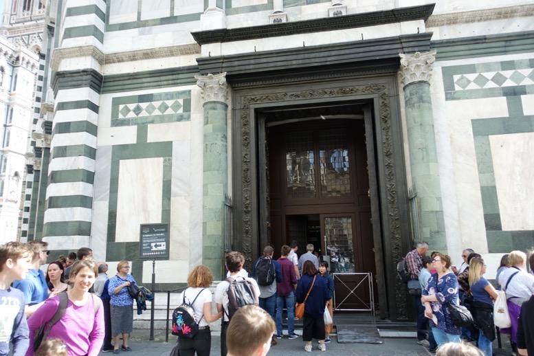 サン・ジョバンニ洗礼堂:外観