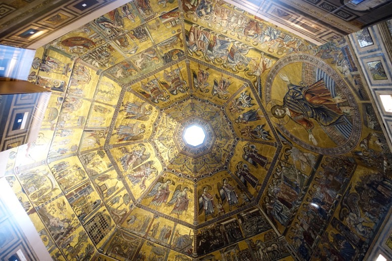 サン・ジョバンニ洗礼堂:天井画2