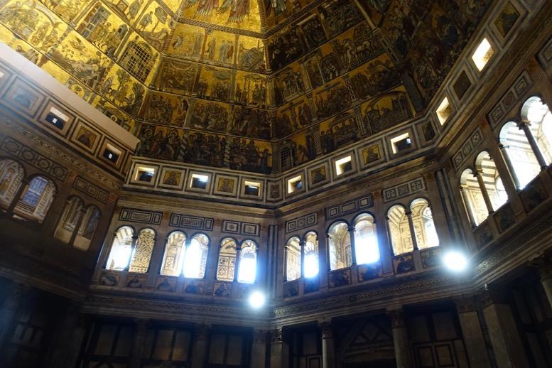 サン・ジョバンニ洗礼堂:天井画1