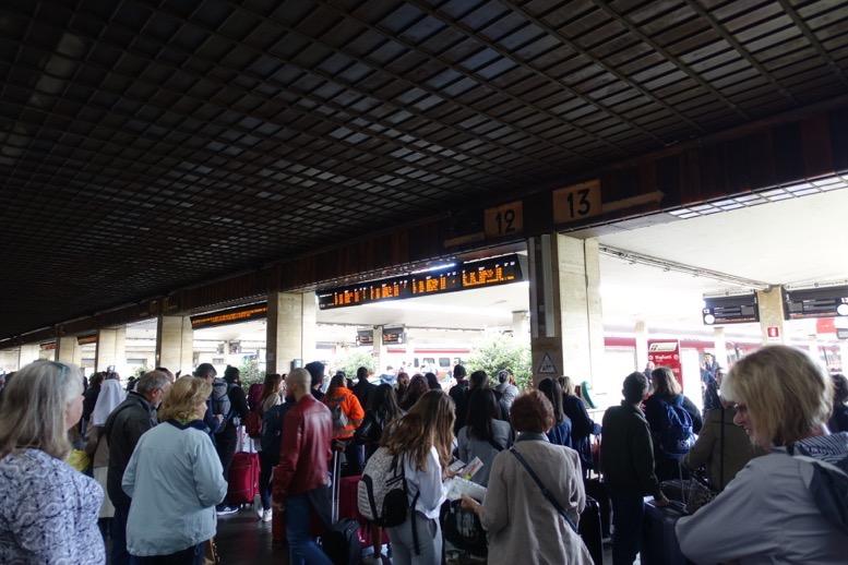 フィレンツェのSMN駅